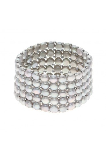 Bracelet Rows of Pearls