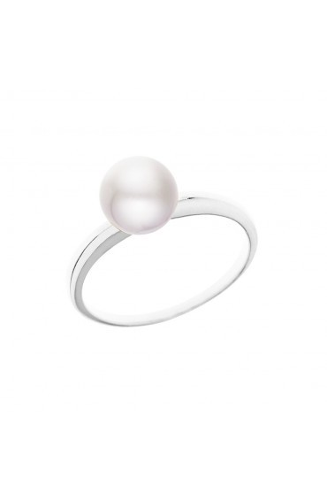 Bague Silver & Pearl