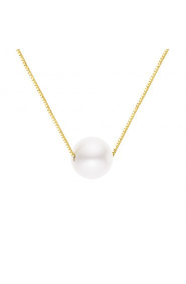 Necklace Silver & Pearl
