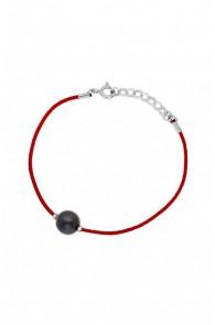Genuine Black Pearl Bracelet