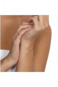 Silver Bracelet Genuine Diamonds