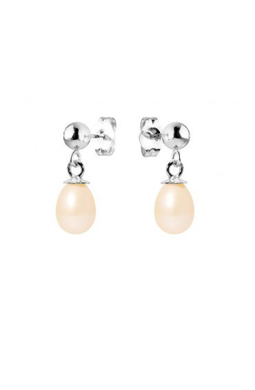 Earrings Silver & Pearls