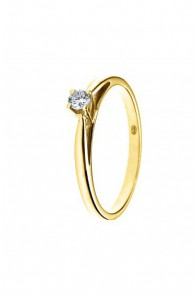Bague Or Solitaire Diamant