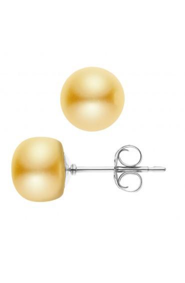 Earrings Silver & Pearls