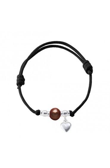 Bracelet Coton & Pearl